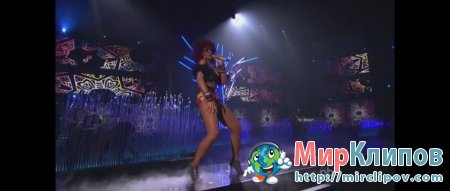 Rihanna -  Love The Way You Lie (Part II), What's My Name And Only Girl (In The World) (Live, American Music Awards, 2010)