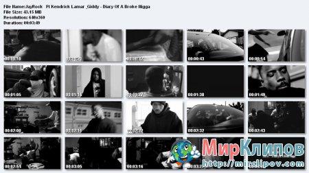 JayRock Feat. Kendrick Lamar & Giddy - Diary Of A Broken Nigga