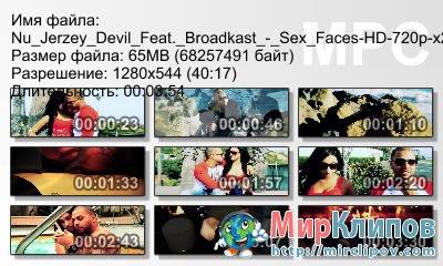Nu Jerzey Devil Feat. Broadkast - Sex Faces