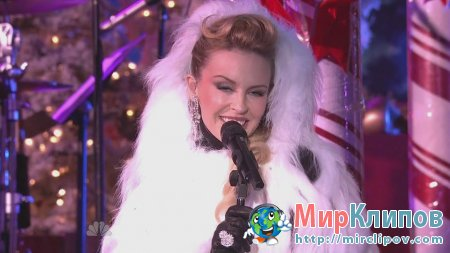 Kylie Minogue - Santa Baby (Live,  Christmas In Rockefeller Center, 2010)