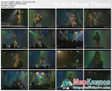 Sabrina - Hot Girl (Live)