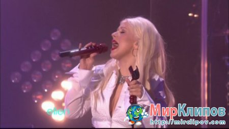 Christina Aguilera - Something's Got Hold On Me (Live, Ellen Show, 2010)