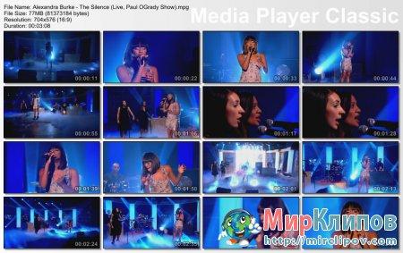 Alexandra Burke - The Silence (Live, Paul O'Grady Show)