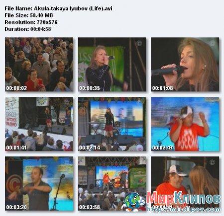 Акула - Такая Любовь (Live)