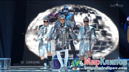 Верка Сердючка - Dancing Lasha Tumbai (Live, Eurovision, 2007)