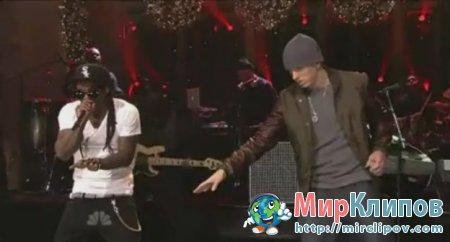 Lil Wayne Feat. Eminem - No Love (Live, SNL)