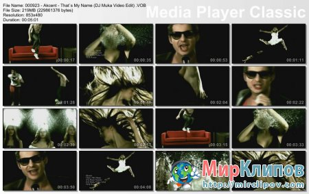 Akcent - That's My Name (DJ Muka Video Edit)