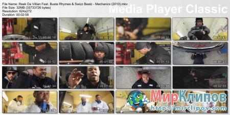 Reek Da Villian Feat. Busta Rhymes & Swizz Beatz - Mechanics