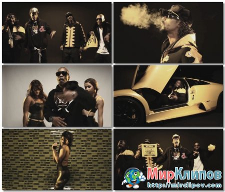Wiz Khalifa feat. Snoop Dogg, Juicy J & T-Pain - Black And Yellow (G-Mix)