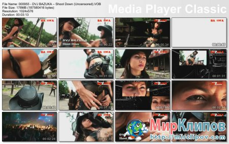 DVJ Bazuka – Shoot Down (Uncensored)