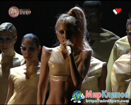 Lady Gaga - Born This Way (Live, Grammy Awards,  2011)