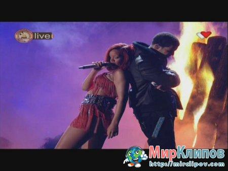 Rihanna Feat. Drake - Whats My Name (Live, Grammy Awards, 2011)