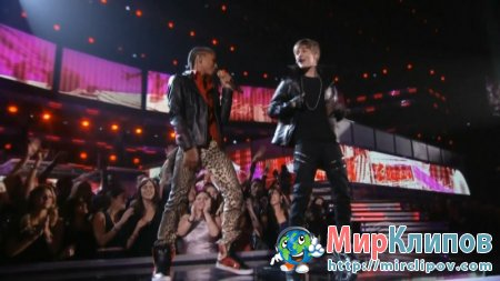 Justin Bieber Feat. Jaden Smith - Never Say Never (Live, Grammy Awards, 2011)