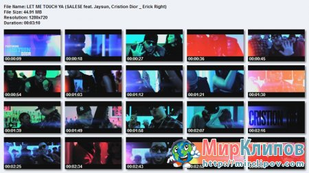 Salese Feat. Jaysun, Cristion Dior & Erick Right - Let Me Touch Ya