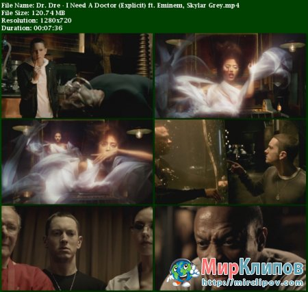 Dr. Dre Feat. Eminem & Skylar Grey - I Need A Doctor