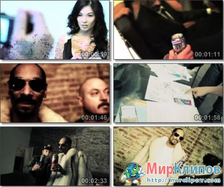 Snoop Dogg, Estevan Oriol & Rosa Acosta Blast - Colt 45 Photo Shoot