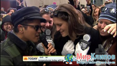 Bruno Mars - Just The Way You Are (Live, Today Show)