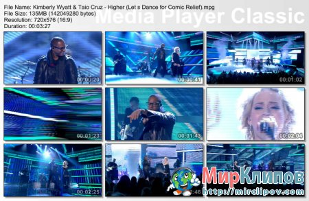 Kimberly Wyatt & Taio Cruz - Higher (Live, Let's Dance For Comic Relief)
