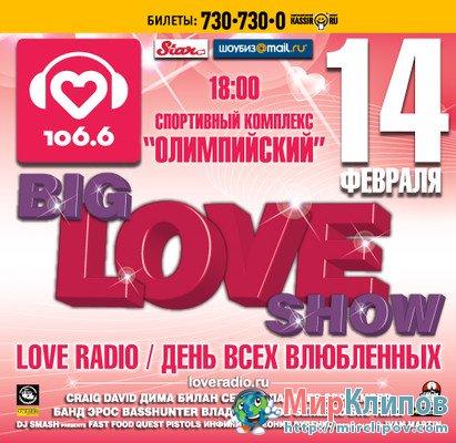 Big Love Show - Концерт Ко Дню Всех Влюбленных, 2011