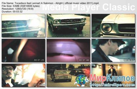 Tocadisco Feat. Lennart A Salomon - Alright