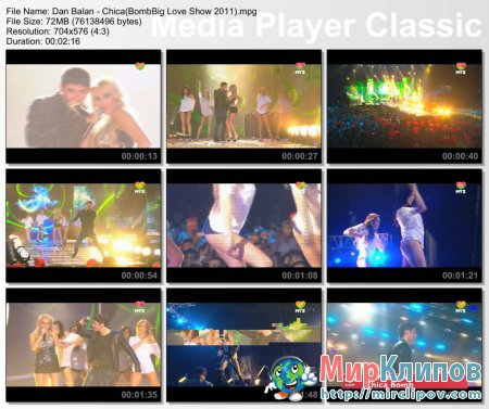 Dan Balan - Chica Bomb (Live, Big Love Show, 2011)