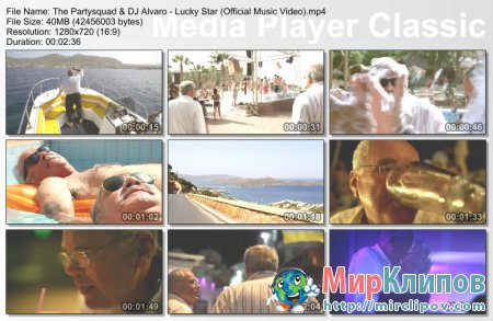 The Partysquad Feat. DJ Alvaro - Lucky Star