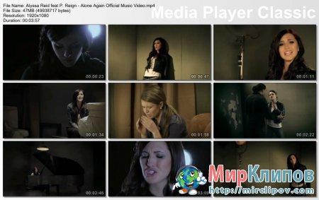Alyssa Reid Feat P. Reign - Alone Again