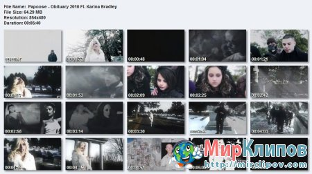 Papoose Feat. Karina Bradley - Obituary