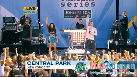 Black Eyed Peas - Rock That Body (Live, GMA, 30.07.2010)