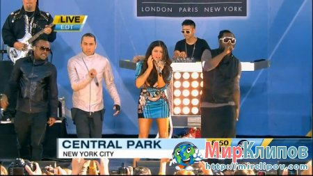 Black Eyed Peas - I Gotta Feeling (Live, GMA, 30.07.2010)