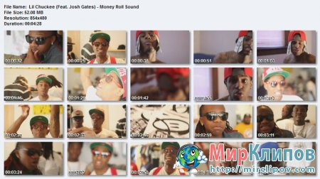 Lil Chuckee Feat. Josh Gates - Money Roll Sound