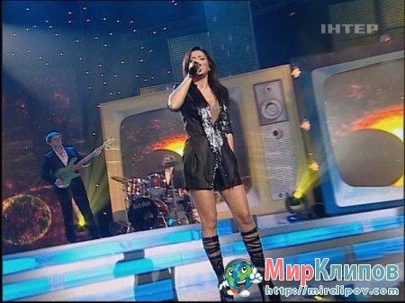 Ани Лорак - Птица и Солнце (Live, 14-летие Канала Интер, 2010)