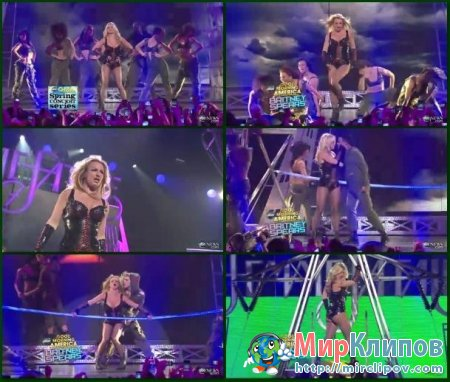 Britney Spears - Till The World Ends (Live, GMA, 2011)