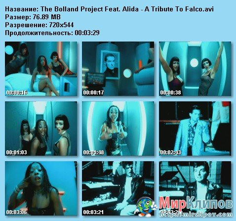 The Bolland Project Feat. Alida - A Tribute To Falco