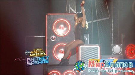 Britney Spears - Big Fat Bass (Live, GMA, 28.03.2011)