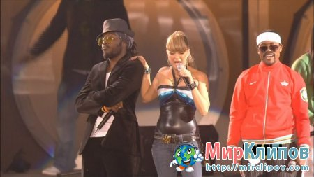 Black Eyed Peas - My Humps (Live, MTV EMA, 2005)