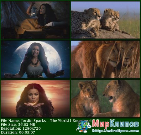 Jordin Sparks - The World I Knew (OST Disneynature African Cats)