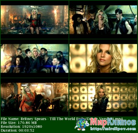 Britney Spears - Till The World Ends (Dance Version)