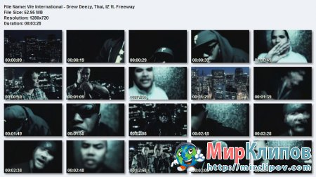 Freeway Feat. Drew Deezy, Thai & Iz - We International