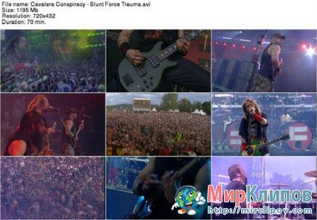 Cavalera Conspiracy - Blunt Force Trauma (Live, 2011)