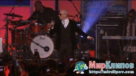 Pitbull - Hey Baby (Live, Jimmy Kimmel Show, 08.02.2011)