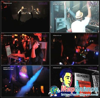 Marquee - A3 Megamix (Live, Hudson Jeans Party, Marquee Las Vegas, 2011)