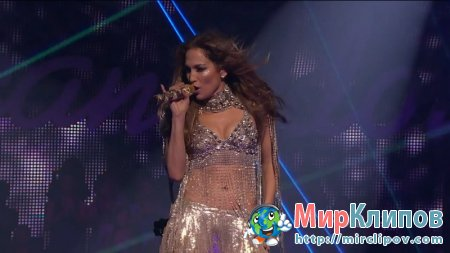 Jennifer Lopez Feat. Pitbull - On The Floor (Live, American Idol, 2011)