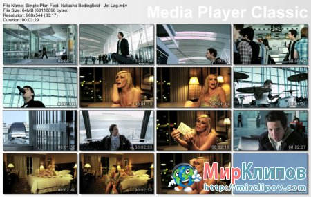 Simple Plan Feat. Natasha Bedingfield - Jet Lag