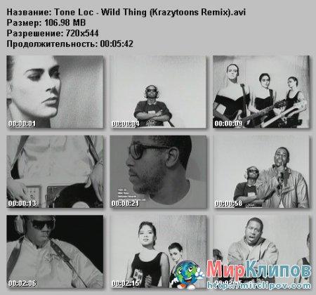 Tone Loc - Wild Thing (Krazytoons Remix)