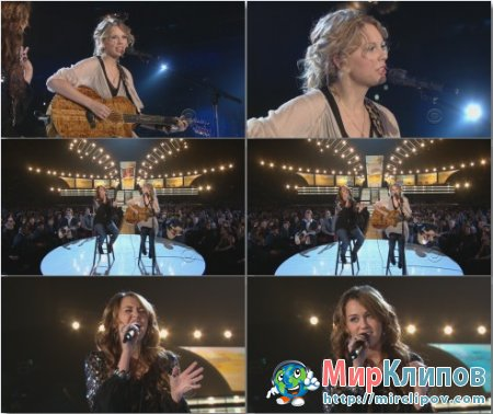 Taylor Swift Feat. Miley Cyrus - Performance (Live, 51st Grammy Awards, 2009)