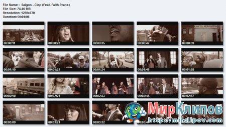 Saigon Feat. Faith Evans - Clap