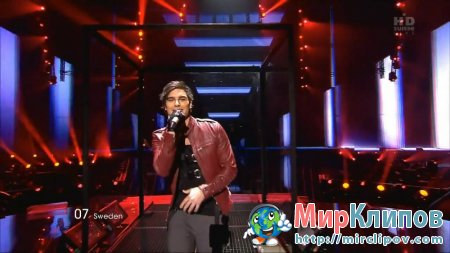 Eric Saade (From Sweden) - Popular (Live, Eurovision, 2011)