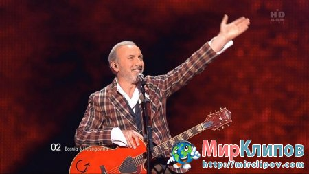 Dino Merlin (From Bosnia & Herzegovina) - Love In Rewind (Live, Eurovision, 2011)