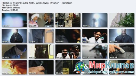 Wes Fif Feat. Big K.R.I.T., CyHi Da Prynce & Dreamer  – Hometeam